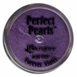 Barevný pudr Perfect Pearls - Forever Violet 2,5g