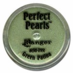 Barevný pudr Perfect Pearls - Green Patina 2,5g