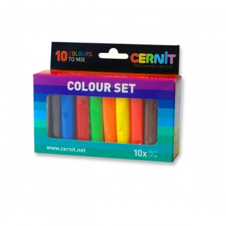 Cernit Multicolour set 10x30g