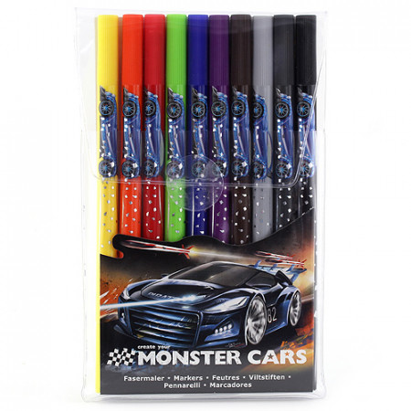 Create Your Fixy Monster Cars 10 barev