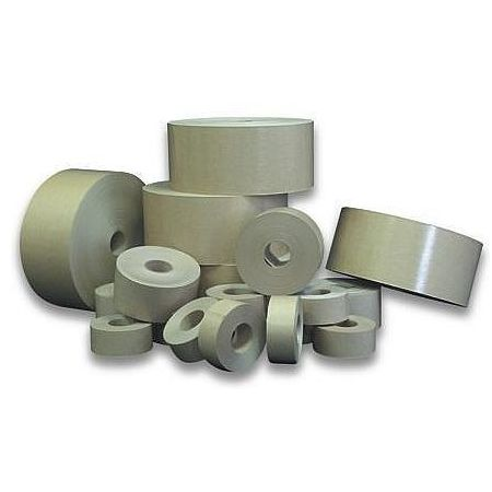 Lepící páska papírová hnědá šíře 50mm, návin 50m